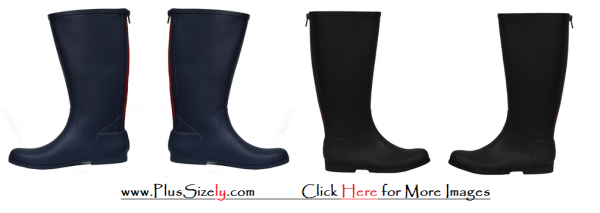 Plus Size Rain Boots Rainy Season&39s Shoes | www.PlusSizely.com