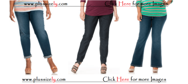 Cheap and Comfortable Plus Size Maternity Jeans Images