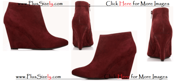 Cute Red Boots For Plus Size Women Images