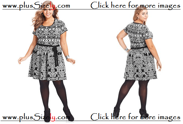 Cute Style Plus Size Vintage Dresses For Women Images