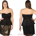 Cute Teen Plus Size Clothing for Special Occasion Images