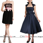 Dark New Years Eve Dress for Junior Images
