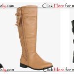 Fashionable Plus Size Women Boots