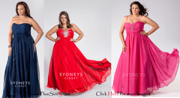 New Design Plus Size Fashion 2014 New Year Images