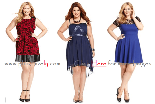 New Trend fashion Plus Size Dresses For Junior 2014 Images