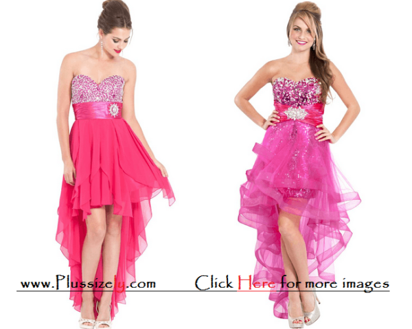 Pink Fairy Tale New Years Eve Dress for Junior Images