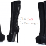 Plus Size Boots Knee High Heel Boots