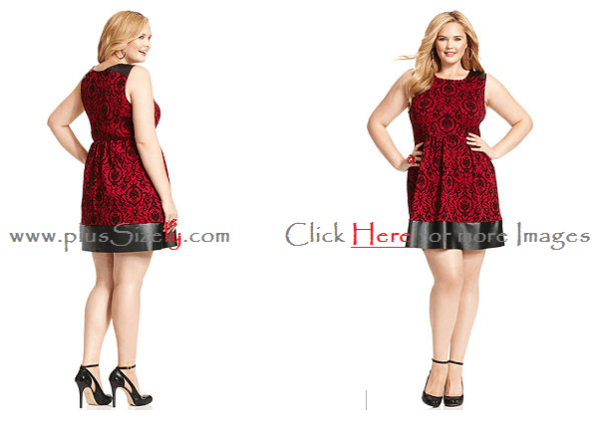 Plus Size Dresses For Junior 2014 Images