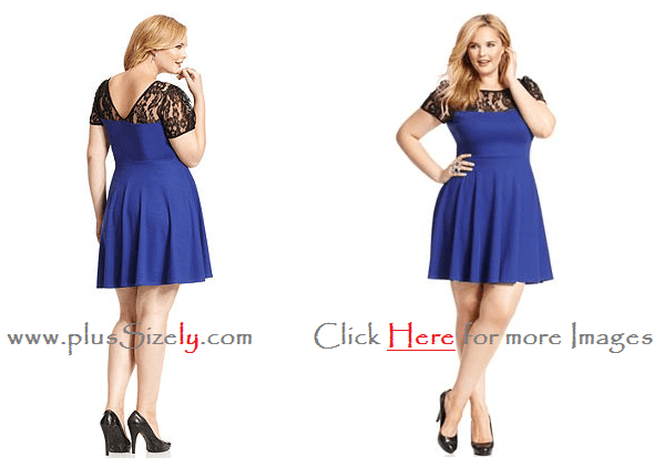 PLUS SIZE JUNIOR DRESSES - Kapres Molene