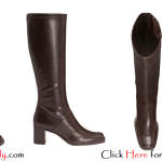 Plus Size Leather Boots For Women