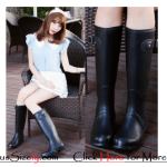 Plus Size Rain Boots Rainy Season's Shoes