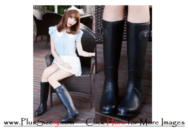 Plus Size Rain Boots Rainy Season's Shoes Images