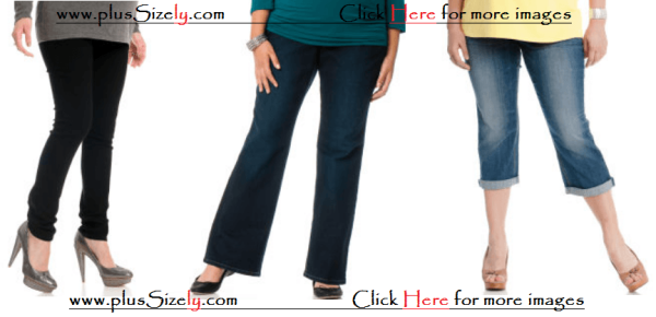 Simple Style Maternity Jeans For Large Women Images