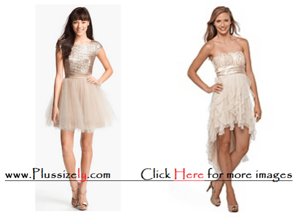 White Cream New Years Eve Dress for Junior Images