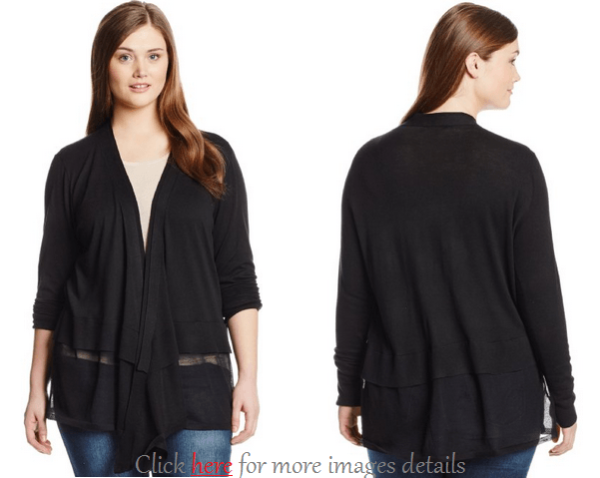 Black Plus Size Cardigan Sweaters Images