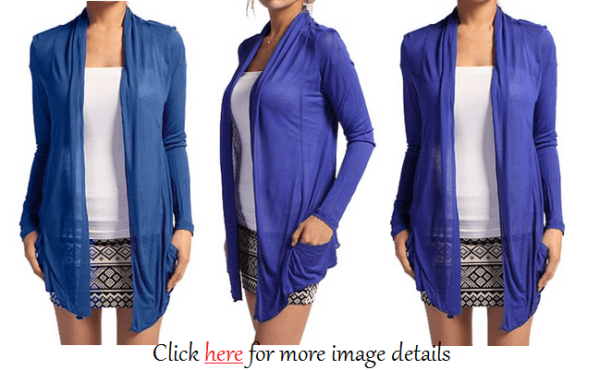 Blue Casual Plus Size Summer Cardigan Sweaters Images