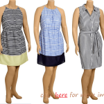 Cute Plus Size Summer Dresses: So Fashionable With Stripe Accent