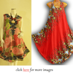 Plus size summer dresses 2014: Colorful and Casual Look