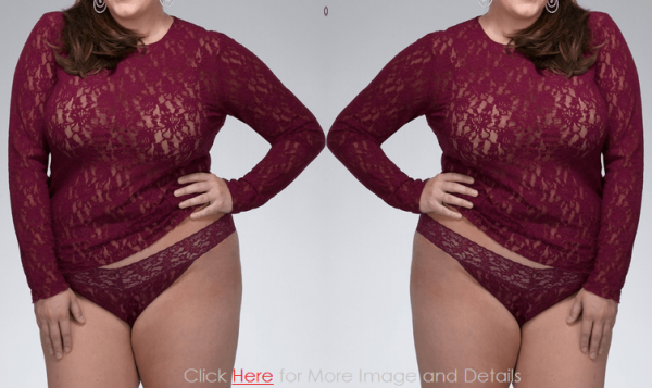Cute Maroon Plus Size Lace Camisole Tops Images