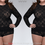 Plus Size Lace Camisole Tops: Perfect Body Shape