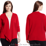 Plus Size Red Cardigan Sweaters: Sexy And Casual
