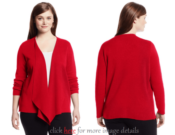 Elegant Plus Size Red Cardigan Sweaters Images