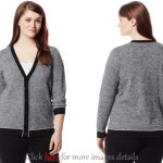 Plus Size Cardigan Sweaters: Elegance With Deep Colors