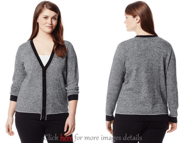 Plus Size Cardigan Sweaters: Elegance With Deep Colors | www ...