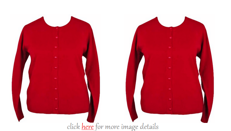 Plus Size Red Cardigan Sweaters Images