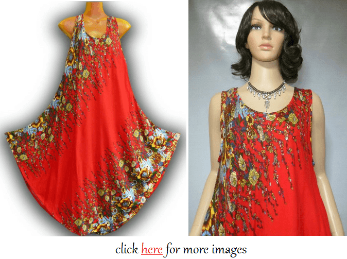 Red Online Plus size summer dresses 2014 Images