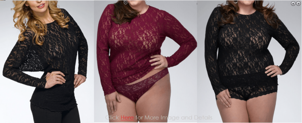 Trend Plus Size Lace Camisole Tops Images