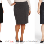 Plus Size Leather Skirt: Formal And Elegant