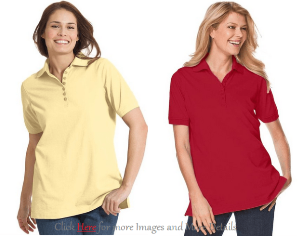 Trendy Plus Size Polo Shirts Images