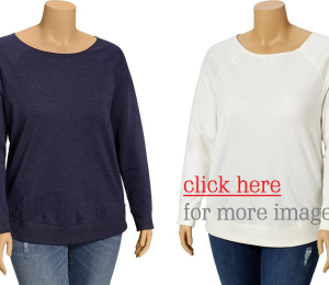 Need to Replace Your Old Plus Size Sweatshirts?