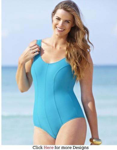 trendy plus size swimsuit: exeperience the best summer ever | www