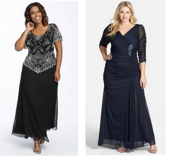 Cheap Plus Size Chiffon Dresses Images