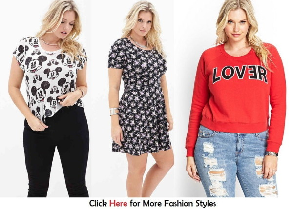 Cheap Plus Size Clothing For Teens From Forever 21 (FILEminimizer) Images