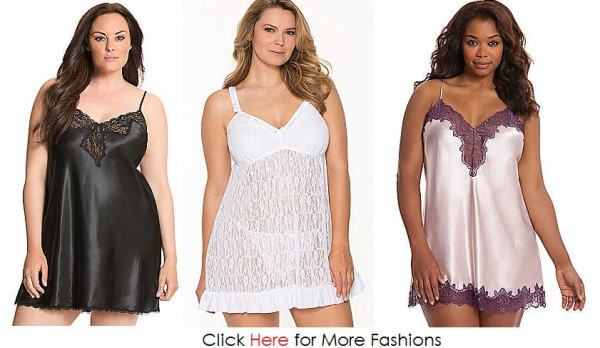Cheap Trendy Plus Size Nighties Images