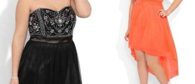 Model Stylist Plus Size Short Prom Dresses For Girls Images