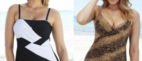 New Design Trendy Plus Size Swimsuit Images