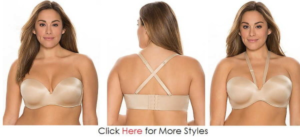 Plus Size Strapless Bra Images