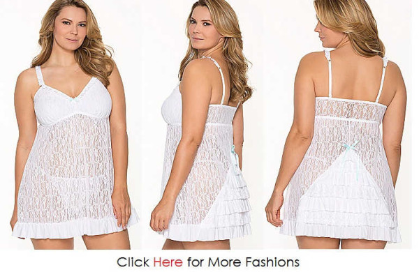 Sensual Trendy Plus Size Nighties Images
