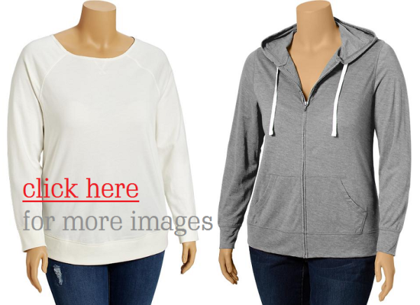 Simple Sweatshirts Plus Size for Big Big Women Images