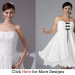 Glamorous Cheap Short Wedding Dresses