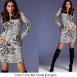 Animal Pattern Cheap Plus Size Clothing For Women Images
