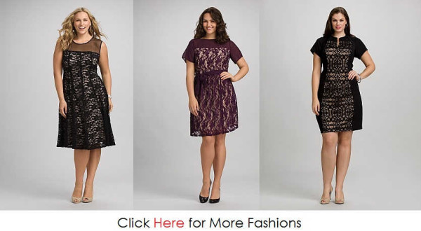 Elegant Cheap Plus Size Lace Dresses Images