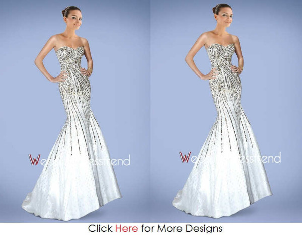 Feminine Cheap Mermaid Wedding Dresses Images
