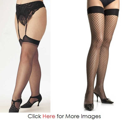 Net Plus Size Stockings Images