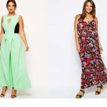 Summer Long Plus Size Dresses Images