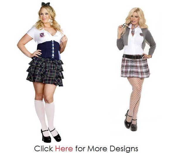 Teenager Plus Size School Uniforms Images